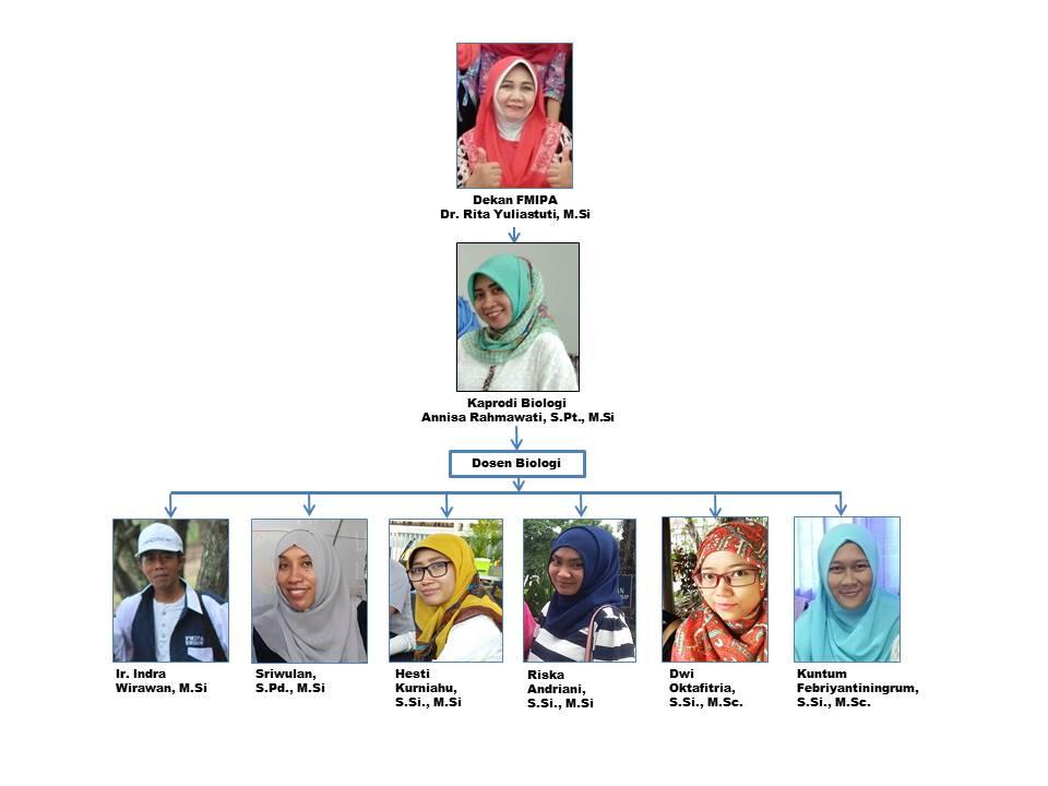 struktur organisasi biologi